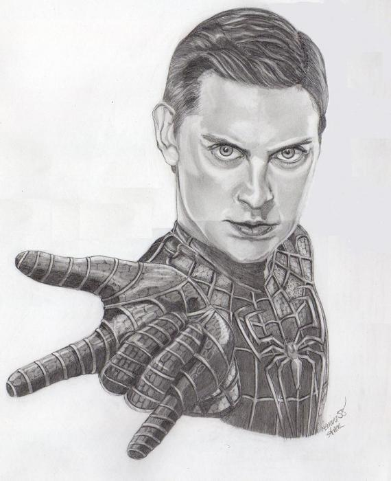 Tobey Maguire by Gemini58